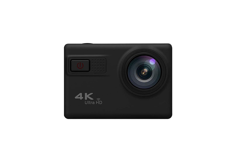 Ergou Action Kamera 2 Zoll 4 Karat Ultra Clear Mit Wifi Outdoor Sports Wasserdichte Kamera Reithelm Kamera Luftaufnahmen