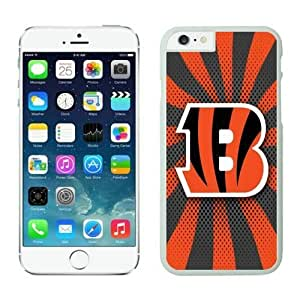 NFL&Cincinnati Bengals iphone 6 Cases White 4.7 inches cell phone cases&Gift Holiday&Christmas Gifts PHNK624078