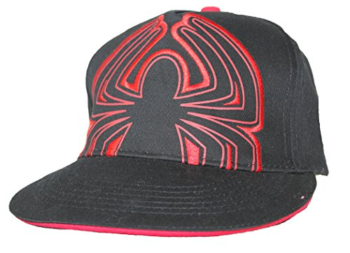 The Amazing Spider-Man Unisex Hat Cap - Movie Style Spider Logo Image on Black