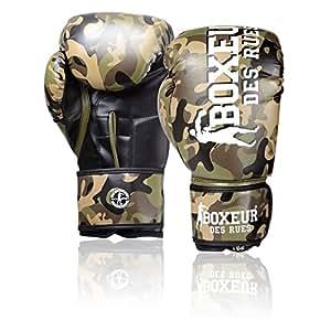 Boxeur des rues Fight Activewear Guantes de Boxeo Marrón Camouflage Talla:6 OZ