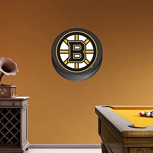 UPC 849469053789, NHL Boston Bruins Logo Fathead Wall Decal, Real Big
