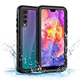 Mishcdea for Huawei P20 Pro Waterproof Case Shockproof Snow-Proof Dirt-Proof Full Body Phone