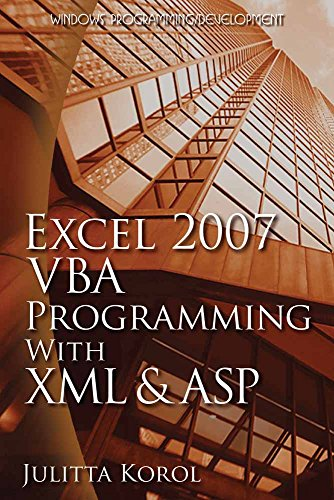 Excel 2007 VBA Programming with XML and ASP (Wordware Applications Library) by Brand: Jones n Bartlett Learning