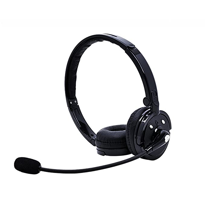 215df3bd50c Wireless Bluetooth Headset Headphones with Microphone,Over The Head Stereo  2 in 1 Stereo Handsfree