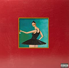 "Triple vinyl LP pressing. 2010 release from 14-time Grammy-winning producer, writer and performer Kanye West. My Beautiful Dark Twisted Fantasy includes Nikki Minaj, Jay-Z, Rick Ross, and Justin Vernon of Bon Iver on the smash street single ""..."