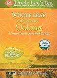 Uncle Lee's Tea Oolong Tea Whole Leaf Organic, 18 Count