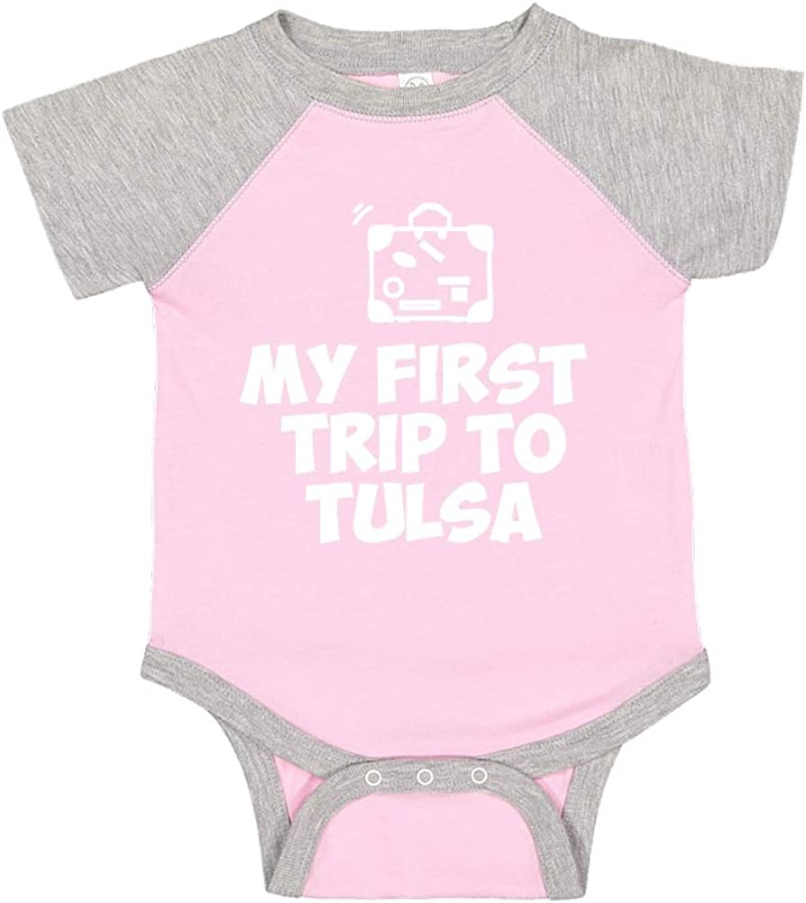 Mashed Clothing My First Trip to Tulsa Baby Romper