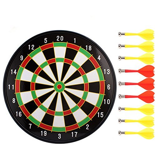 安全Magnetic Dart Board Set投げスポーツダーツおもちゃギフト35cm-01