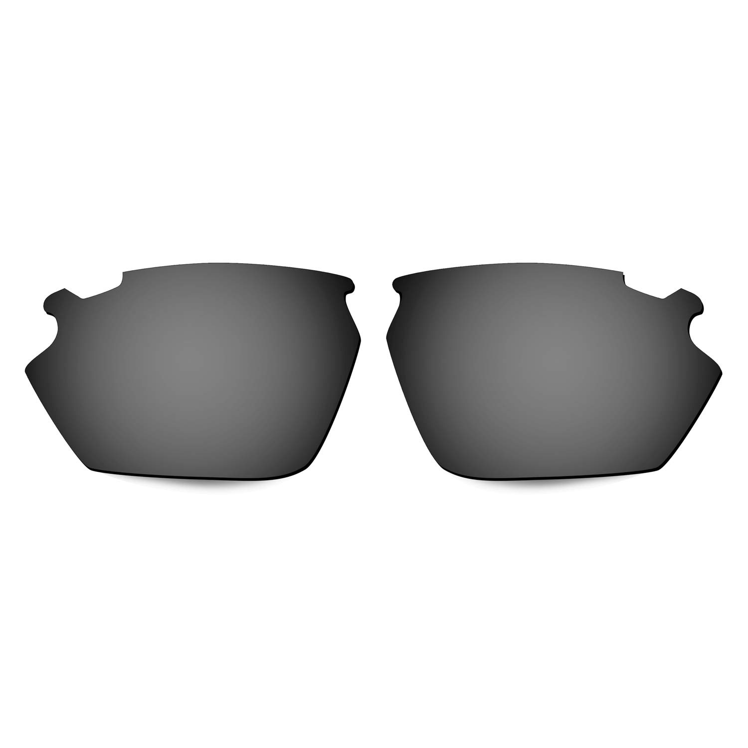 HKUCO Reinforce Replacement Lenses For Rudy Stratofly Sunglasses Black Polarized