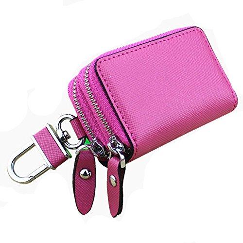 Eysee - Cartera de mano para mujer rojo rosa 7.8cm*5cm*3.2cm rosa (b)