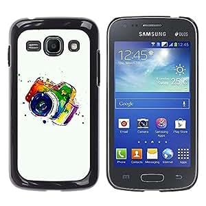 MOBMART Carcasa Funda Case Cover Armor Shell PARA Samsung Galaxy Ace 3 - Colored Camera