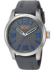 BOSS Orange Mens Paris Quartz Stainless Steel Casual Watch (Model: 1513349)