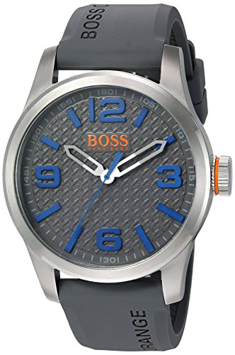 BOSS Orange Men's Paris Quartz Stainless Steel Casual Watch (Model: - Boss Watches Mens