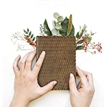 storeindya Thanksgiving gifts Leather Notebook Journal Diary for Girls Handmade Genuine Eco Friendly Unlined Pages Compact Travel Diary Writing Journal for Men & Women (Ancient River Collection)
