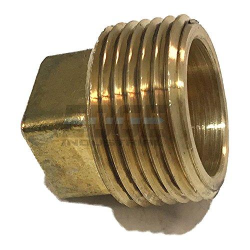 EDGE INDUSTRIAL Brass Square Head Plug 1