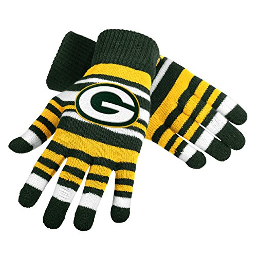 UPC 889345173798, NFL Green Bay Packers Stretch Gloves