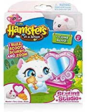 Hamsters in a House Hamster with Styling Studio Accessories - Snowflake by Hamsters in a House