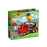 Lego Duplo fire truck town of 10 592