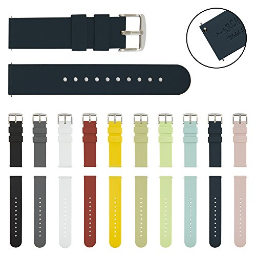 Watch Straps Silicone Replacement Midnight product image