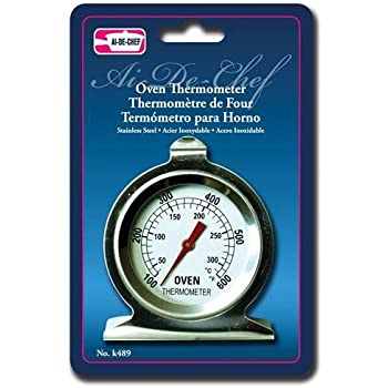 Al-de-chef Stainless Steel Oven Thermometer