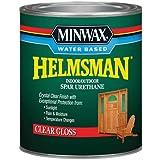 Minwax 630500444 Water Based Helmsman Spar Urethane, quart, Gloss