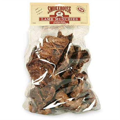 Smokehouse 100-Percent Natural Lamb Munchies Dog Treats, 16-Ounce, My Pet Supplies