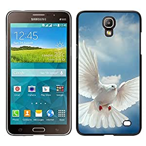 Design for Girls Plastic Cover Case FOR Samsung Galaxy Mega 2 Bird Dove Wings Flying Sky God Hope OBBA