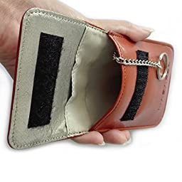 Key Fob holder – RFID Signal Blocking Bag – Protect against Signal Relaying – Keyless Entry Systems - Genuine Leather – Faraday Cage – Keychain - Ideal as a Gift