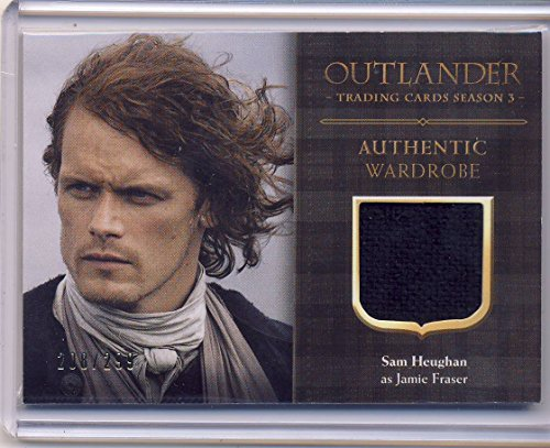 2018 Outlander Season 3 Trading Cards Wardrobe Card CE1 Sam Heughan as Jamie Fraser