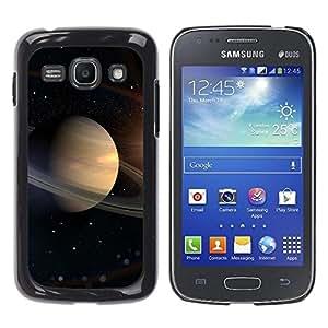 Caucho caso de Shell duro de la cubierta de accesorios de protección BY RAYDREAMMM - Samsung Galaxy Ace 3 GT-S7270 GT-S7275 GT-S7272 - Saturn Rings Space Universe Cosmos Stars Solar