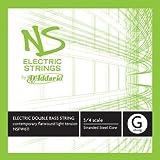 D'Addario NS Electric Contemporary Bass Single G String, 3/4 Scale, Medium Tension