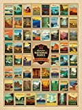 "True South ""60 National Parks"" Jigsaw Puzzle 500 Pieces 18x24"