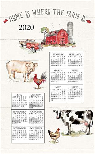 Kay Dee 2020 Linen Calendar Towel - Country Fresh ()