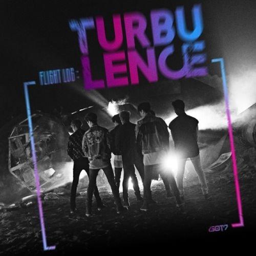 GOT7-[FLIGHT LOG:TURBULENCE] 2nd Album CD+Photo Book+Card+Sticker Sealed (Ok Log)