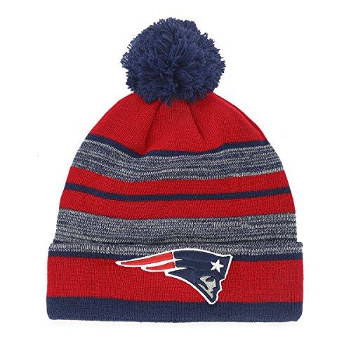New England Patriots Pom Hat Patriots Hat With Pom