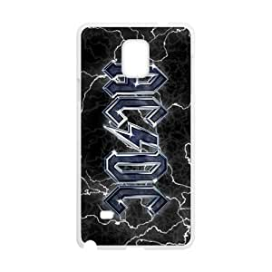 Happy Rock Band AC/DC Logo Cell Phone Case for Samsung Galaxy Note4