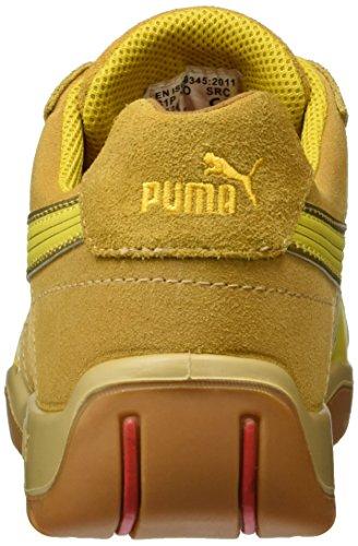 Puma  Monza Low S1P HRO SRC, Puma 642670-409 Herren , Gelb (Gelb/gelb 409), EU 42