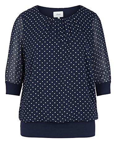 Zizzi Camiseta tallas grandes Mujer azul oscuro