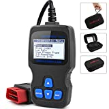 OBD2 Scanner, AUTOPHIX Auto Code Reader Universal OBDII Vehicle Check Engine Fault Code Reader CAN Diagnostic Scan Tool for Automobiles Error Codes Eraser (Gray)
