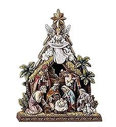 Napco Hallelujah Angel Nativity Scene