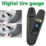 Daphot Store - Digital LCD Display Accuracy Wheel Tire Air Pressure Gauge Tyre Tester Vehicle Motorcycle Car 5-150 PSI/KPA/BAR/KG/CM2 Detector