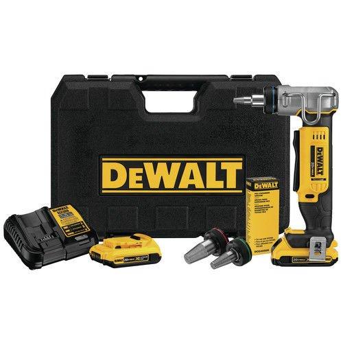 DEWALT DCE400D2 20V Max 1'' Pex Expander Tool Kit by DEWALT