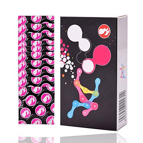 10PCS Colors Latex Condoms, Premium Organic Flavored Condom (Flavored Condoms Premium Latex)