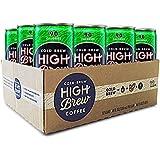 High Brew Cold Brew Coffee - Dark Chocolate Mocha 8 Fl Oz (12 Count) Grab & Go Pre-Made Cold Brew Direct Trade Coffee Mocha Coffee Drink
