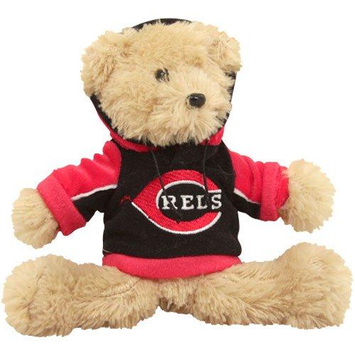 MLB Cincinnati Reds 2010 Fuzzy Hoodie Bear, 8-Inch (8 Inch Fuzzy Bear)