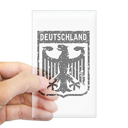 CafePress Deutschland Coat of Arms Rectangle Sticker Rectangle Bumper Sticker Car Decal