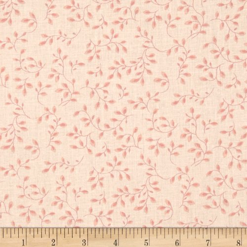 Henry Glass 108in Wide Folio Pale Pink Fabric By The Yard