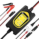 Automotive Battery Charger Maintainer 6V 12V 1.5A Fully Automatic Portable Trickle Charging
