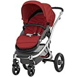 Britax Affinity Complete Stroller - Red Pepper - Silver by Britax USA