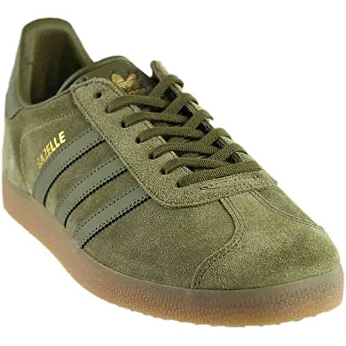 quality design 912cb 618ab adidas Gazelle Mens in Olive Cargo by, 7